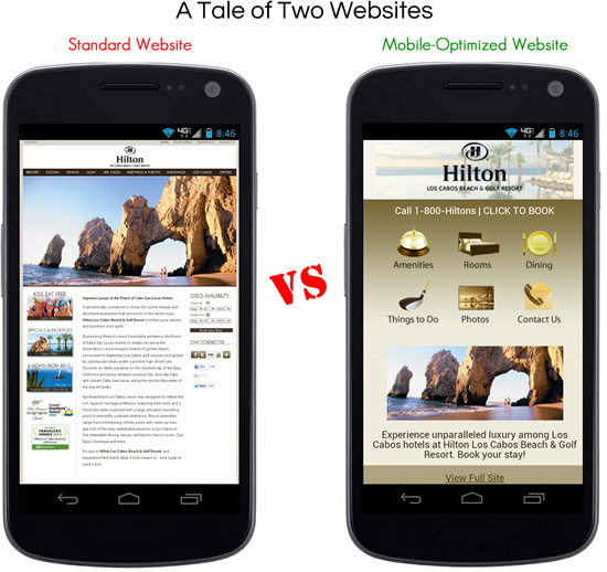 mobile-vs-nonmobile-site