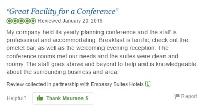 Embassy Suites SLO Review