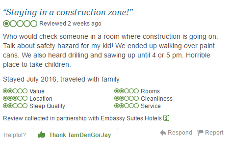 Bad construction review