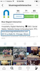Blue Magnet Interactive's Instagram profile