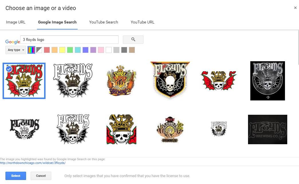 how to add a custom logo to google my maps