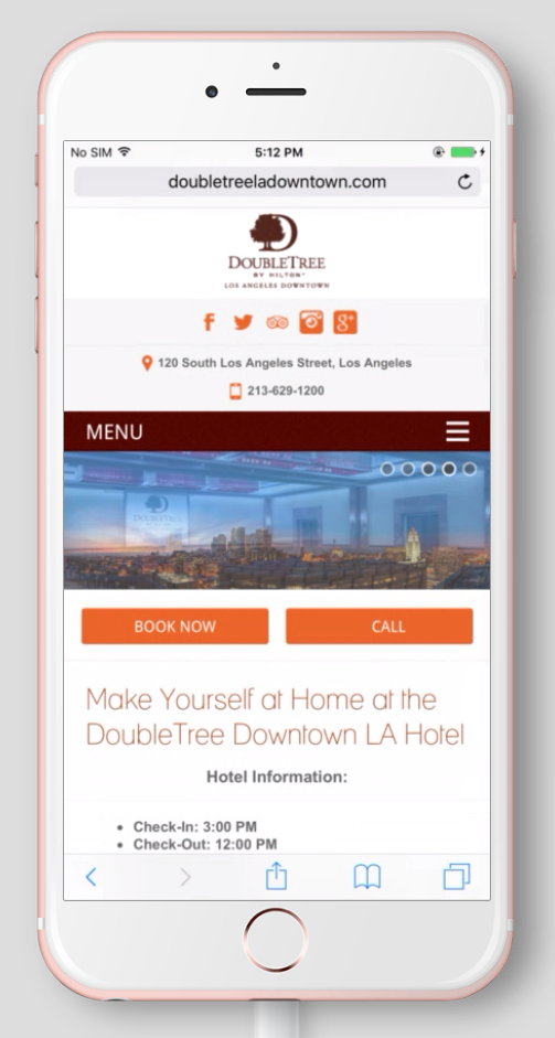 Mobile Page