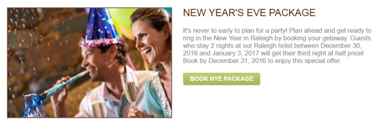 new years eve special offer example