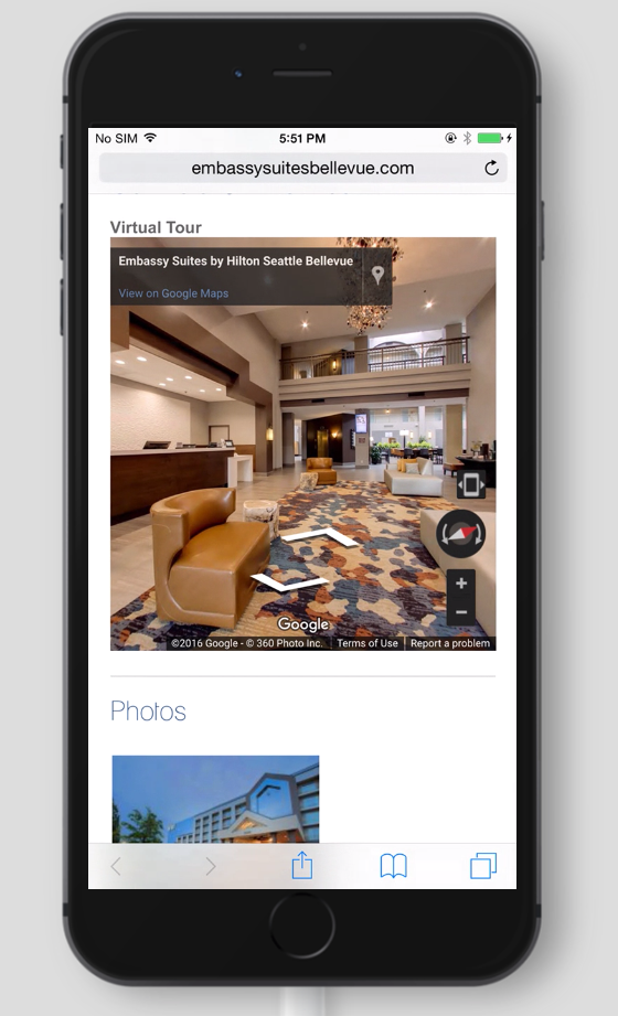 Virtual Tour Mobile