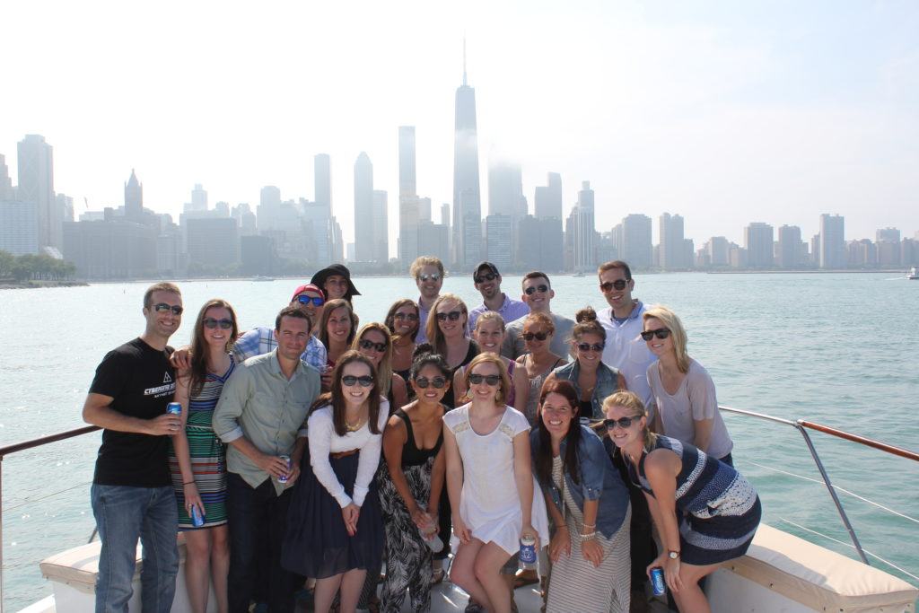 2014 Blue Magnet Interactive Chicago Boat Cruise