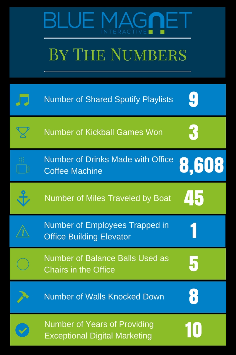 Blue Magnet Interactive By the Numbers