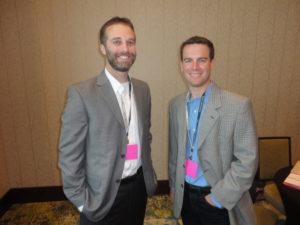 Matt Bitzer and Chris Jones Founders of Blue Magnet Interactive