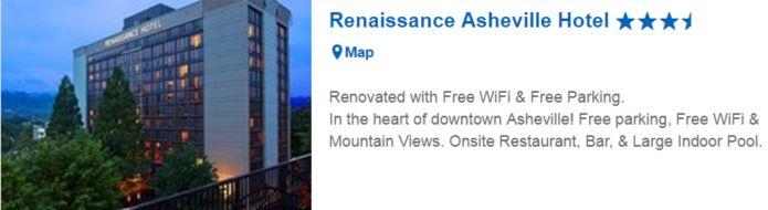 renaissance asheville expedia ad