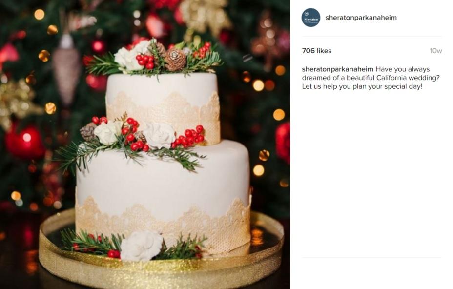 sheraton park anaheim instagram ad
