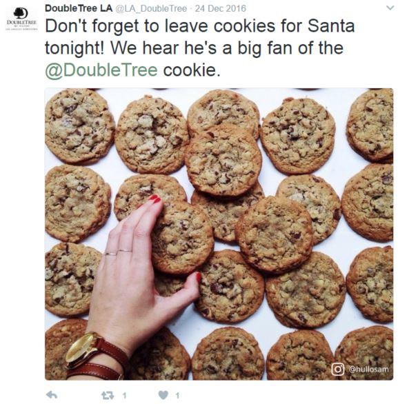 doubletree la tweet