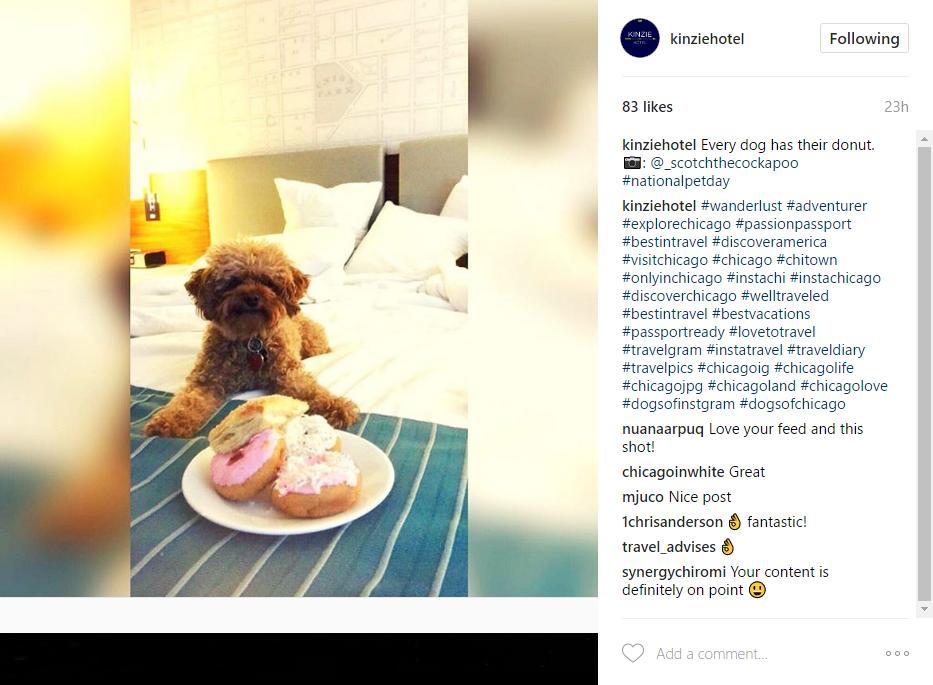 instagram engagement example