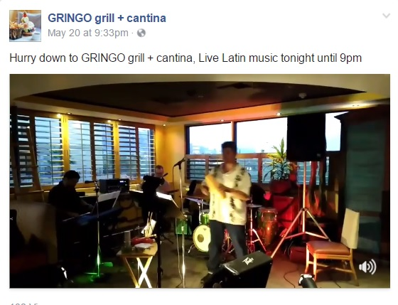 gringo grill + cantina live music event post