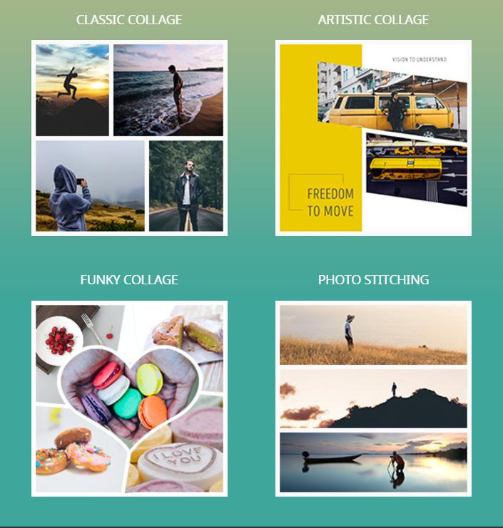 Fotor Collage Creator Screenshot
