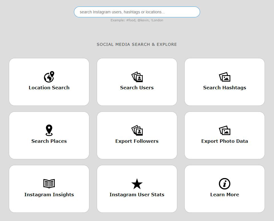 picodash search options
