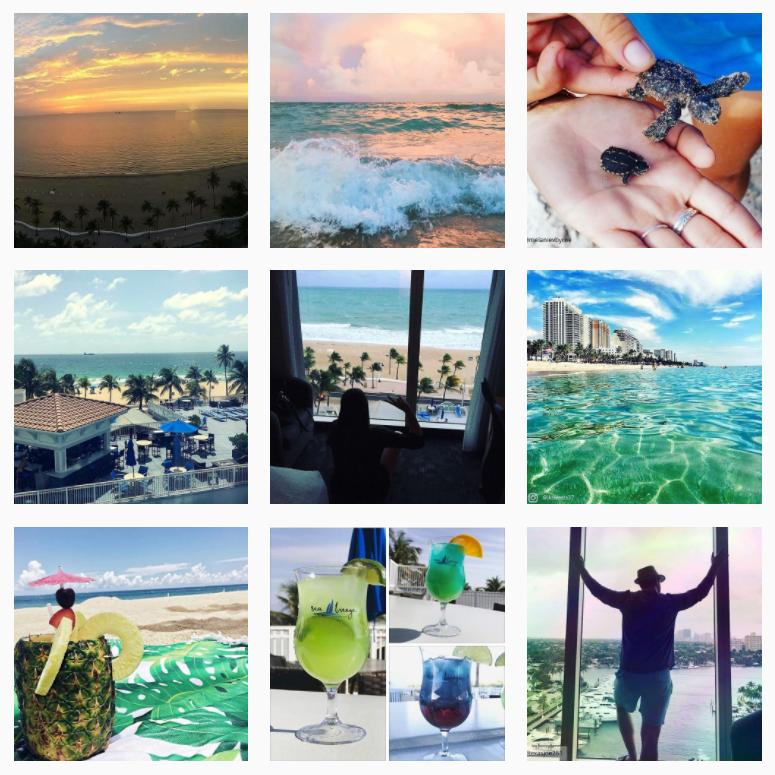 courtyard ft lauderdale beach instagram