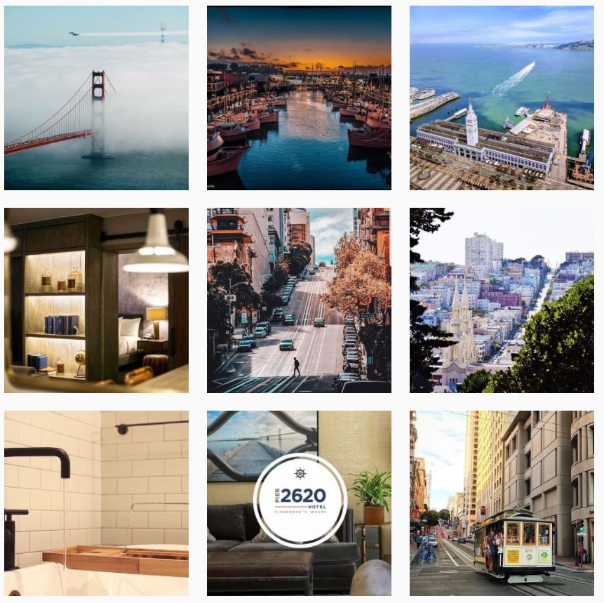 pier 2620 hotel instagram account