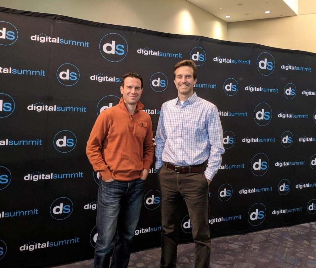 blue magnet at the digital summit