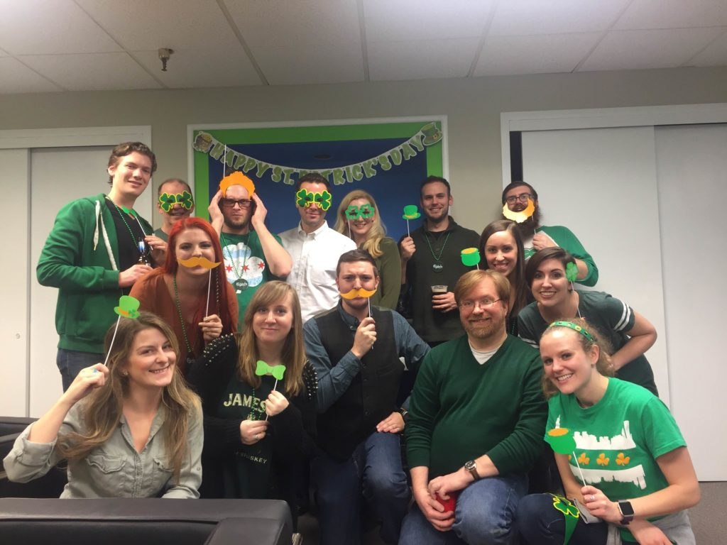 Blue Magnet's St. Patrick's Day Party
