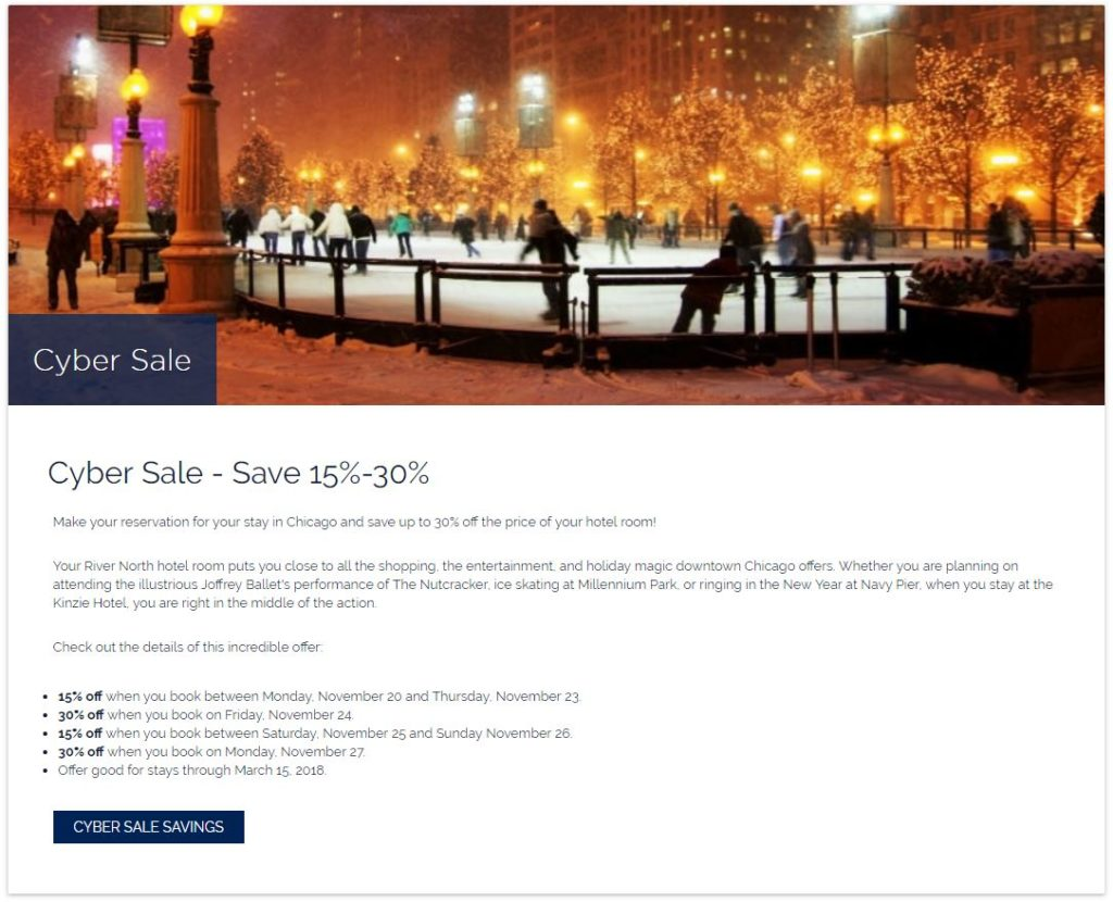 cyber sale example
