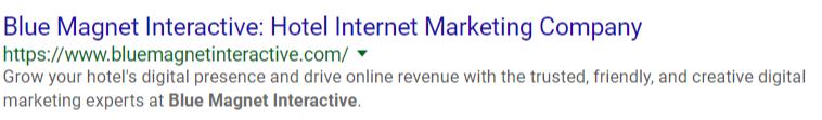 meta title and description example