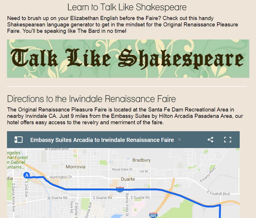talk like shakespeare button