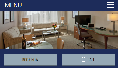 variant mobile content in hotel website experiment