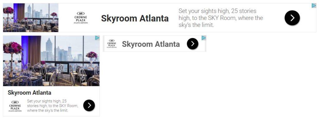 SKY Room Display Ad Example