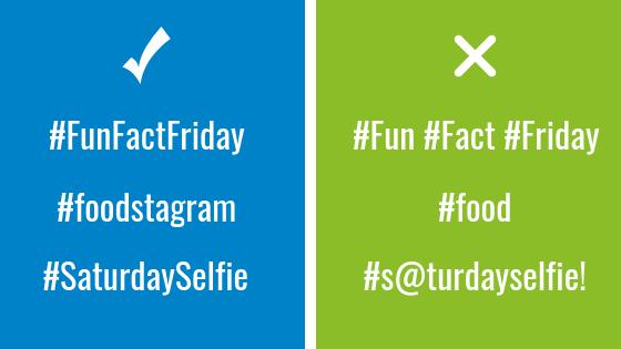 instagram hashtag rules
