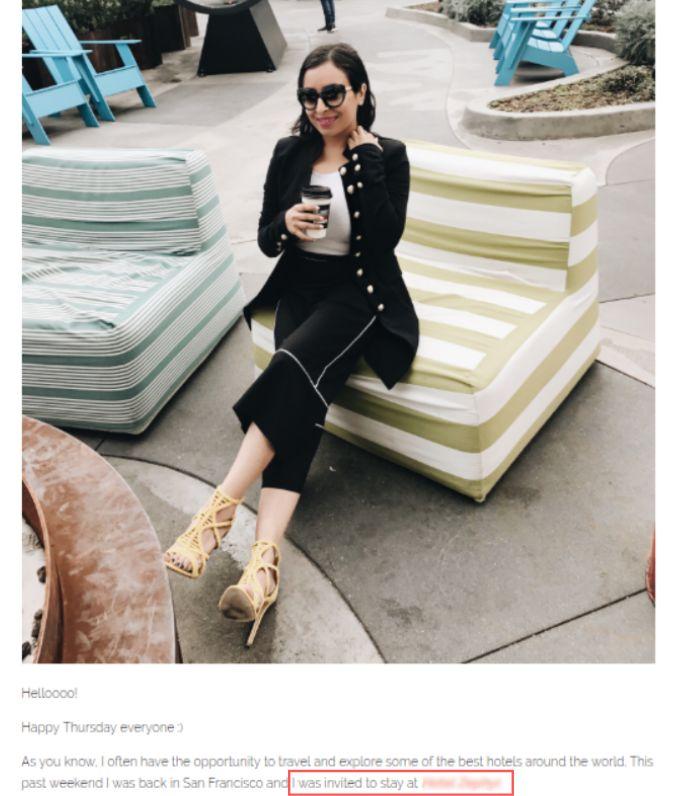 social media influencer blogger