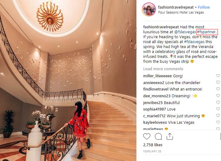 social media influencer instagram travel