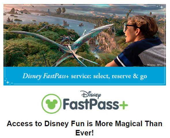 Example eBlast Disney