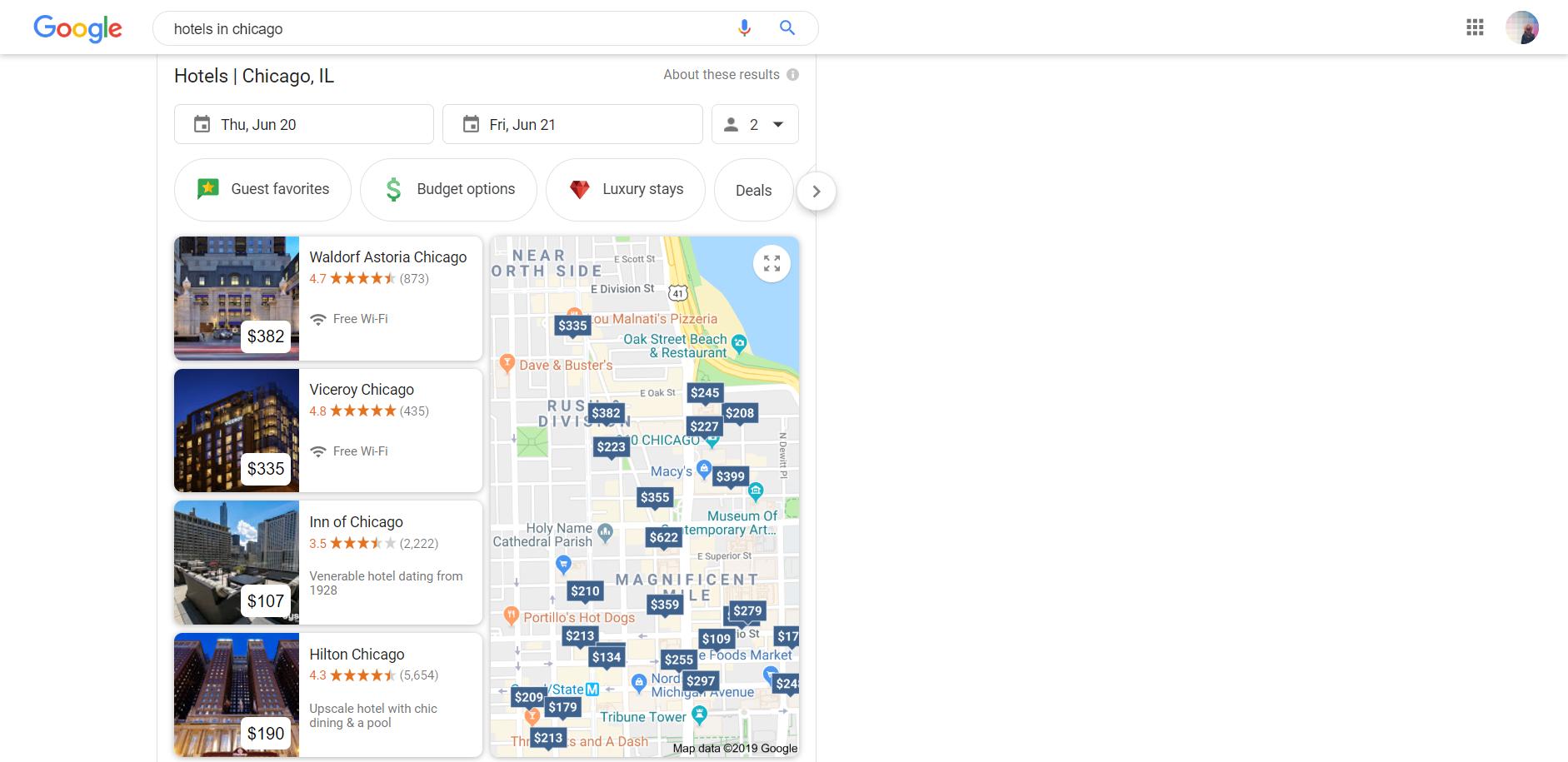 Google local area pack