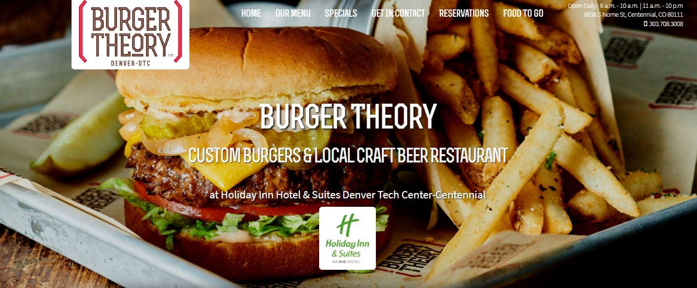 Burger Theory Microsite