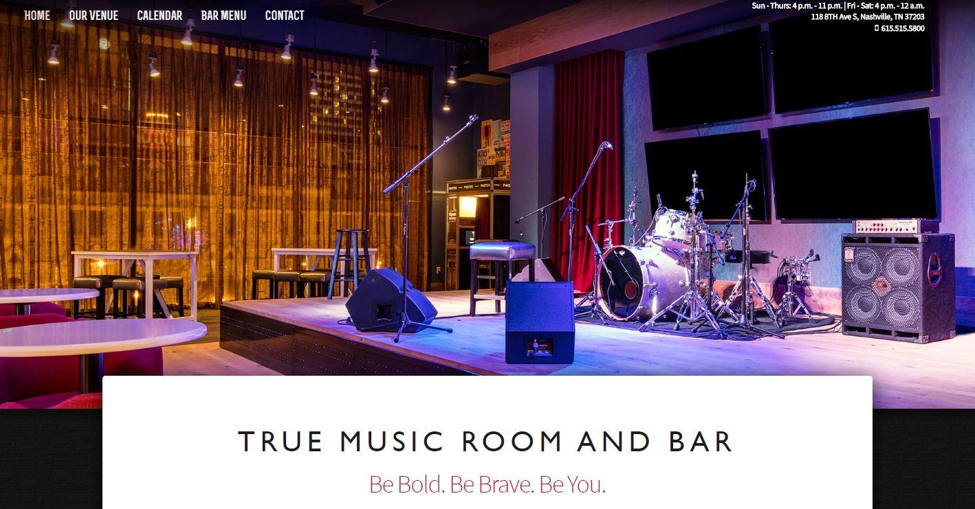 True Music Room Microsite