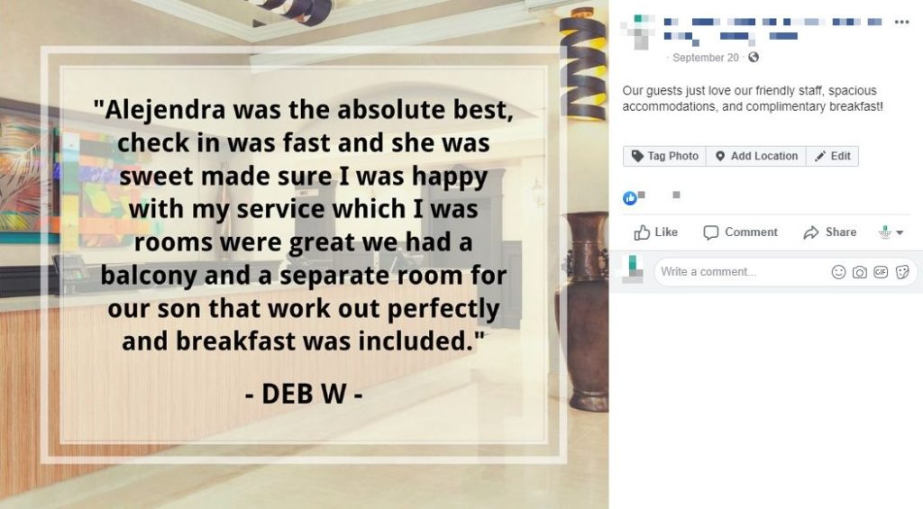 facebook review tripadvisor