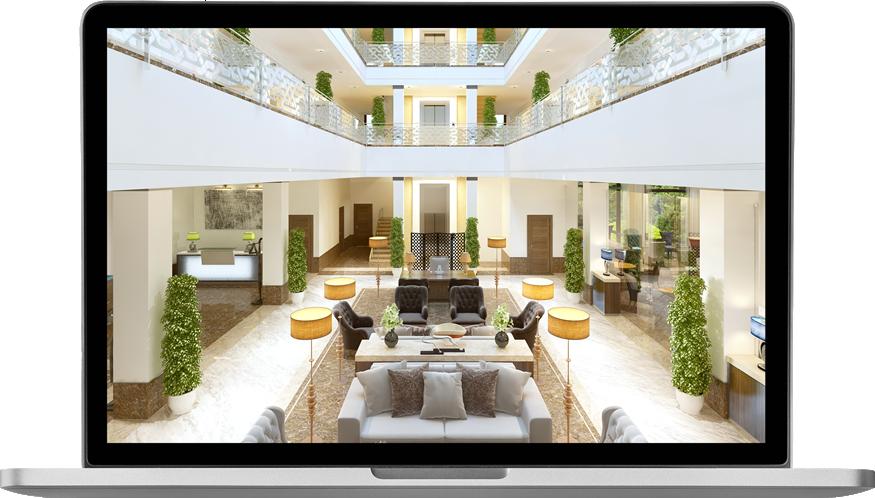 laptop hotel lobby1